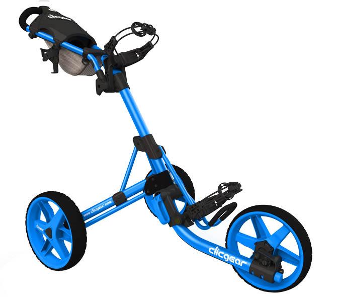 Clicgear 3.5 Golftrolley volledig blauw