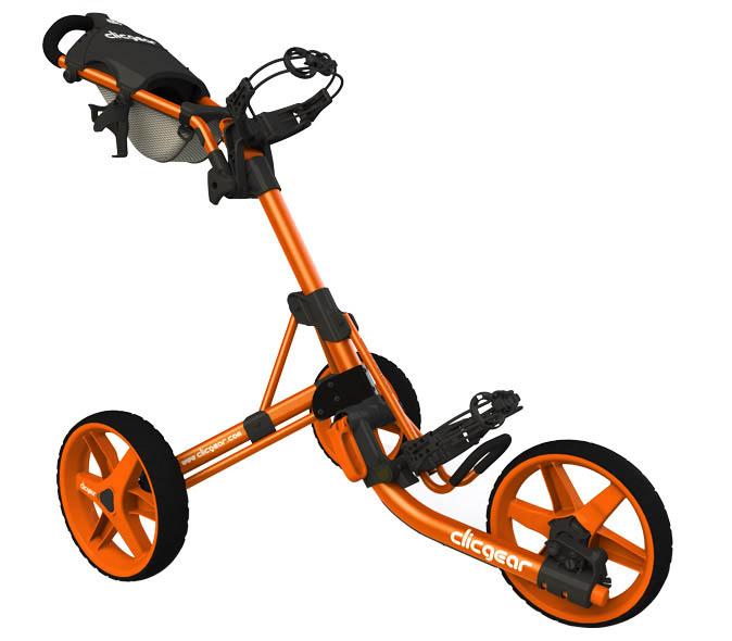 Clicgear 3.5 Golftrolley volledig oranje