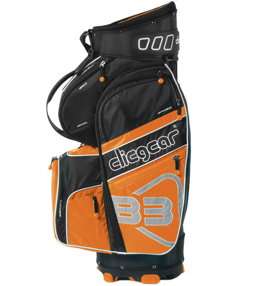Clicgear golftas B3 oranje