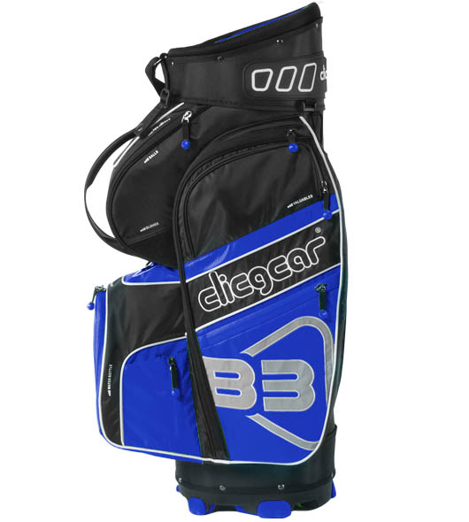 Clicgear golftas B3 blauw