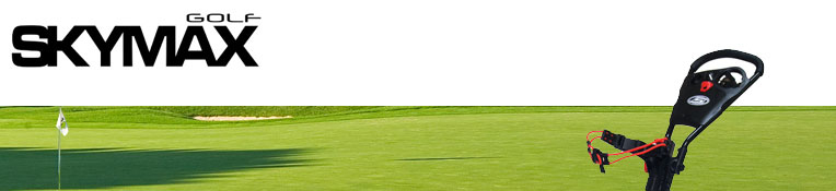 Skymax golftrolleys koop je bij golftrolleyshop.nl